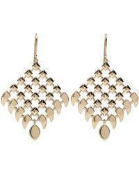 Alexis Kletjian - Retiarii Yellow Gold Statement Earrings - Lyst