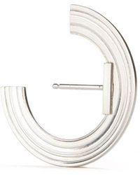 aka jewellery - Sterling Silver Orbit Small Radius Lobe Earrings - Lyst