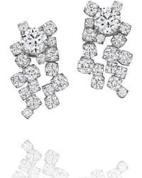 Madstone Design - Melting Ice Diamond Earrings - Lyst
