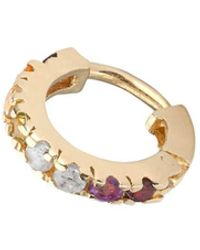 Coco & Kinney - Yellow Gold Plated Rainbow Shelly Earrings - Lyst
