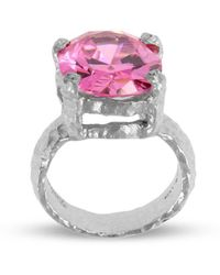 Paul Magen - Sterling Silver Pink Alveus Ring - Lyst