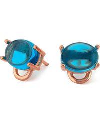 Maviada - Marmaris Vermeil Rose Gold Earrings - Lyst