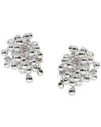 Yen Jewellery - Molecule Cluster Earrings - Lyst