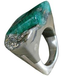 Pasionae - Emerald Ring - Piety - Lyst