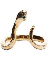Qiyada Jewelry - Snake Midi Ring - Lyst