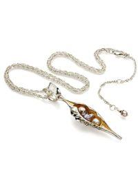 John S Roberts Artist-Jeweller - Large Shell Form Pod Necklace - Lyst