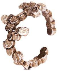 Lumitoro - Tubii Ring Ii Bronze Infusion Stainless Steel - Lyst