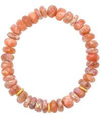 Heather Kenealy Jewelry - Sunstone Bracelet - Lyst