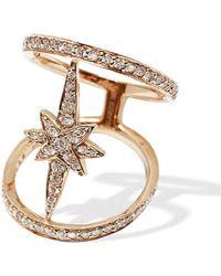 W. Salamoon & Sons - 18kt Rose Gold North Star Diamond Ring - Lyst