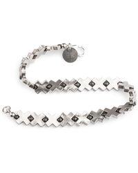 Elindesign Jewellery Cross Bracelet 1 - Metallic