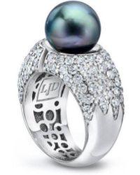 LJD Designs - Divided Ring - Lyst