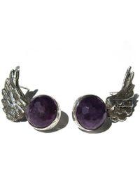 Toosis - Angel Wings Earrings - Lyst
