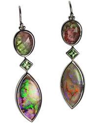 Lainey Papageorge Designs - Aurora Borealis Earrings - Lyst