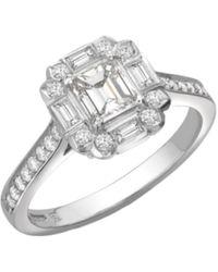 Robert Bicknell Fine Jewellery The Diamond Gatsby R - Metallic