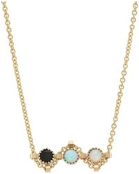 No.79 - Rock Opal Bar Chain - Lyst