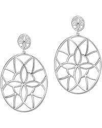 Its Silver - Earrings Girona - Lyst