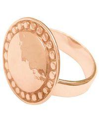 Murkani Jewellery - Marrakech Ring In Rose Gold Plate - Lyst