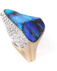 baerjewels - Australian Boulder Opal Ring - Lyst