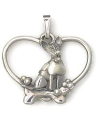 Donna Pizarro Designs - Sterling Silver Jack Russell Terrier Necklace - Lyst
