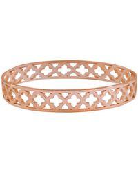 Murkani Jewellery Rose Gold Moroccan Bangle - Metallic