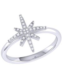LuvMyJewelry - North Star Ring In Sterling Silver - Lyst