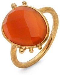 Donatella Balsamo Amazonia Red Ring - Orange
