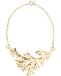 Isa Bagnoli - Golden Coral Bracelet - Lyst