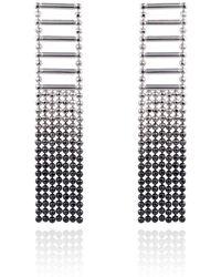 Cara Tonkin - Silver Theda Large Tassel Earrings - Lyst