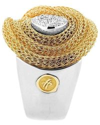 Franco Piane Designed By Franco Pianegonda Sweet Ripples Ring - Metallic
