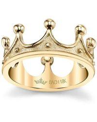 Cynthia Bach   White Queen Crown Ring   Lyst