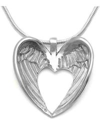 Annika Rutlin - Halo Winged Heart Necklace - Lyst