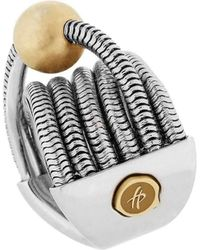 Franco Piane Designed By Franco Pianegonda Waves Ring - Multicolor