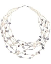 Lily Blanche | Statement Pearls | Lyst