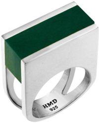 Helana Mckenzie Jewellery Designs Sterling Silver Resin Redemption Ring - Metallic