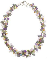 Katie Bartels Jewelry Josephina Necklace - Metallic