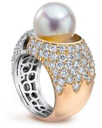 LJD Designs Divided Ring - Multicolour