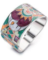 SOLUNA - Sterling Silver Inca Sun And Moon Bracelet - Lyst