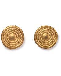 Mara Hotung 18kt Yellow Gold Ginta Earrings - Metallic