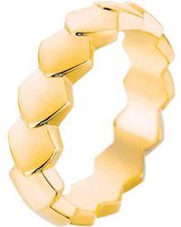 Akillis - Python Yellow Gold Ring - Lyst