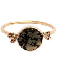 Taylor Black - Stellar Gold Nugget Ring - Lyst
