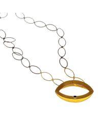 Isla - Fenician Onyx Necklace - Lyst