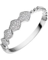 Akillis - Python White Gold Full Set Diamond Bracelet - Lyst
