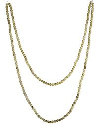 Lucy and Penny - Selena Lemon Quartz Stone Necklace - Lyst