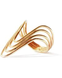 ZLABA - Wave Ring - Lyst