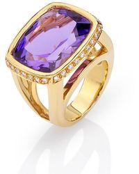 Nicofilimon - Deep Purple Ring - Lyst