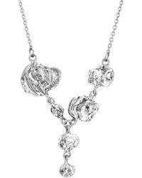 Joseph Lamsin Jewellery - Jelly Fish Sterling Silver Drop Necklace - Lyst