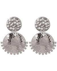 Murkani Jewellery Sterling Silver Stud Earring - Metallic