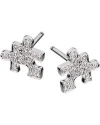 Akillis Ak White Gold With Diamonds Single Stud Earring B46ua9