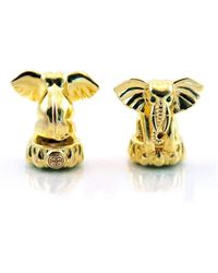 BuDhaGirl - Golden Ganesha End Caps | - Lyst