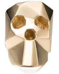 Gab McNeil - Skullz Large Ring Brass - Lyst